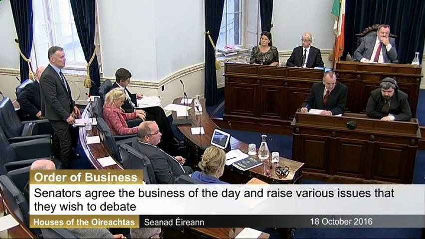 Senator Gallagher calls on Minister to 'sort this mess out' in regards to the upcoming Garda strike
